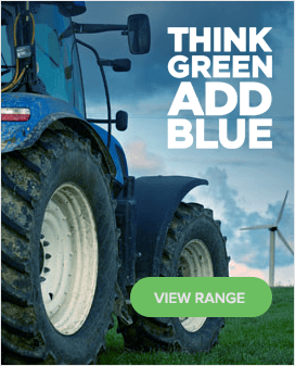 Think green ad blue