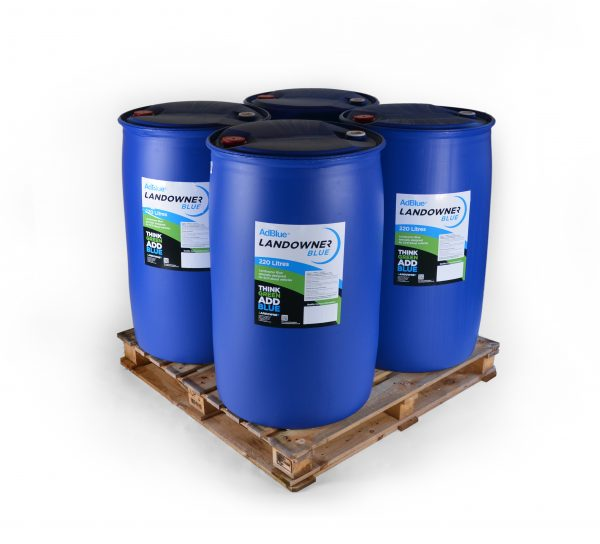 4 barrels of 220l adblue