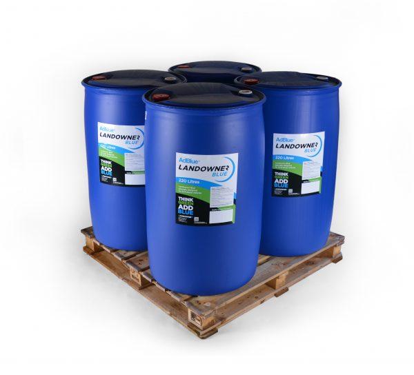 4 barrels of 220l adblue