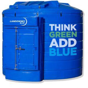 Adblue bulk storage tank.