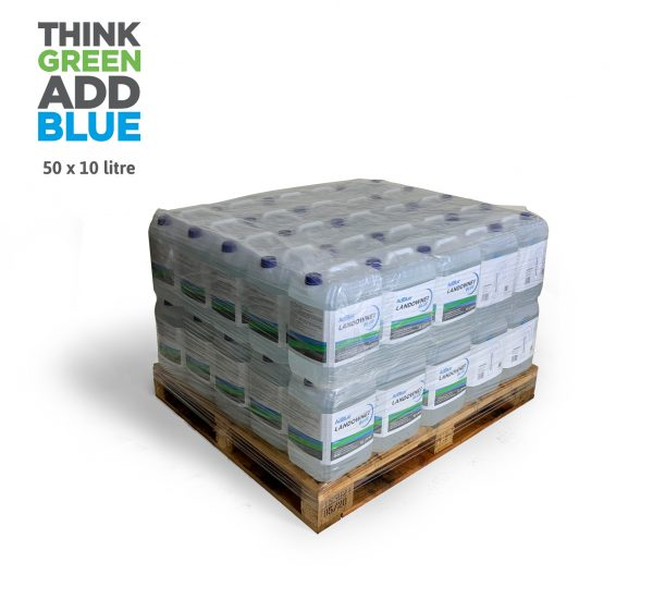 50 x 10l ad blue cans